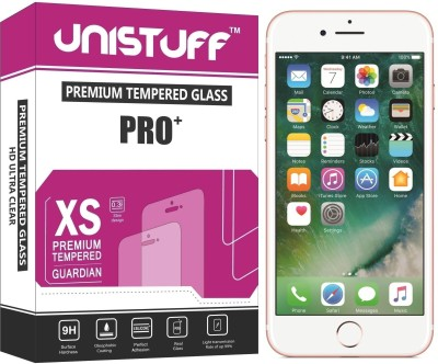 Unistuff Tempered Glass Guard for Apple iPhone 7(Pack of 1)