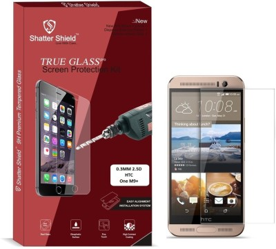 "Shatter Shield Tempered Glass Guard for HTC One M9+ (5.2"" Inch Display)(Pack of 1)"