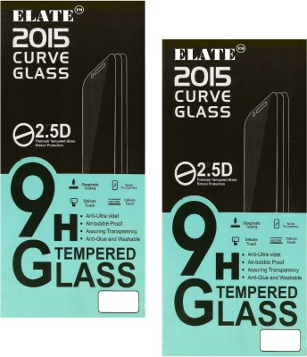 Elate Tempered Glass Guard for HTC one M8 us(Pack of 2)