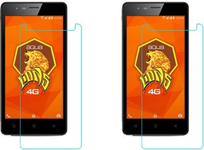 ACM Tempered Glass Guard for Intex Aqua Lions 4g(Pack of 2) Flipkart