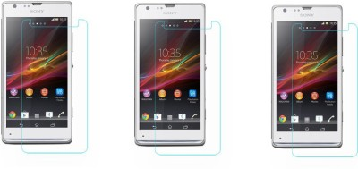 Black Arrow Tempered Glass Guard for Sony Xperia SP(Pack of 1)