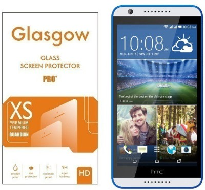 Glasgow Tempered Glass Guard for HTC Desire 820s(Pack of 1)