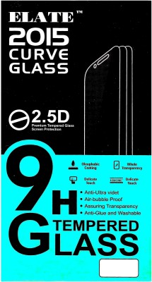 PAV Edge To Edge Tempered Glass for Apple Iphone 6 Plus / Iphone 6s Plus Full Screen Coverage - White Colour(Pack of 1)