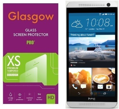 Glasgow Tempered Glass Guard for HTC One E9(Pack of 1)