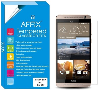 "Affix Tempered Glass Guard for HTC One E9+ (5.5"" Inch Display)(Pack of 1)"