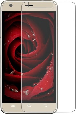 Cowboy Tempered Glass Guard for Lava iris x5 4g(Pack of 1)