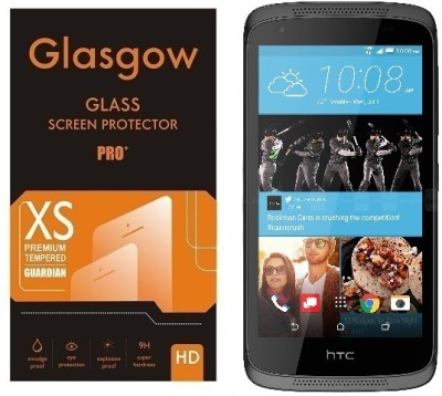 Glasgow Tempered Glass Guard for HTC Desire 526(Pack of 1)
