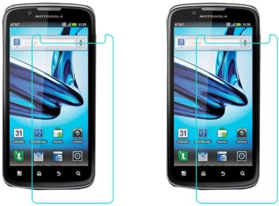 ACM Tempered Glass Guard for Motorola Atrix 2 Mb865(Pack of 2)