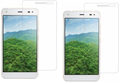 S-Softline Tempered Glass Guard for Reliance Jio Lyf Earth 1(Pack of 2)