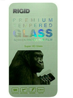 Rigid Tempered Glass Guard for Lava Iris 404e(Pack of 1)