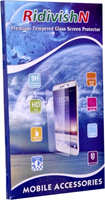RidivishN Tempered Glass Guard for Micromax Canvas Amaze Q395 ( Super saver Pack of 5 )(Pack of 5)