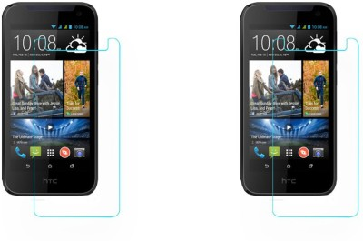ACM Tempered Glass Guard for Htc Desire 310(Pack of 2)