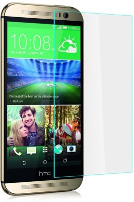 Heartly Tempered Glass Guard for HTC One M8(Pack of 1)