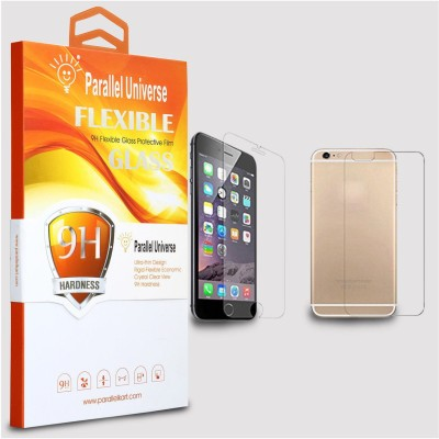 Bibossi Tempered Glass Guard for Apple iPhone 6S Plus [5.5 Inch] - Pack of 2
