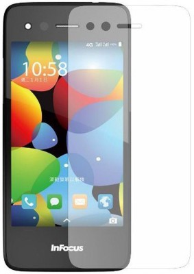 Elate Tempered Glass Guard for Infocus M2(Pack of 1)