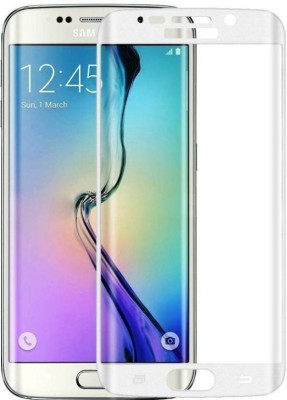 S-Gripline Tempered Glass Guard for Samsung Galaxy S6 edge plus (White)(Pack of 1)