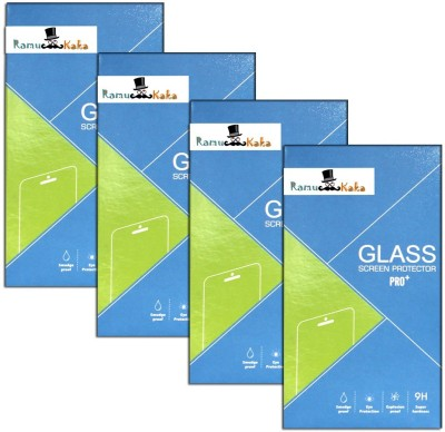 RamuKaka In_453(Pack of 4) Tempered Glass for Intex Aqua Y2+