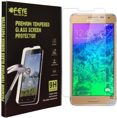 Feye Tempered Glass Guard for Samsung Galaxy Alpha G850(Pack of 1)