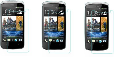 ACM Tempered Glass Guard for Htc Desire 500(Pack of 3)