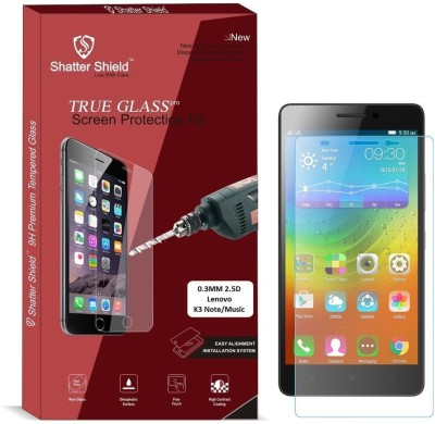 Shatter Shield Tempered Glass Guard for Lenovo K3 Note / Lenovo K3 Note Music (5.5 Inch Display)(Pack of 1)