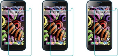 ACM Tempered Glass Guard for Intex Aqua Curve Mini(Pack of 3)