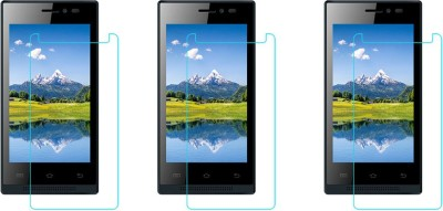 ACM Tempered Glass Guard for Intex Aqua Y2+ Plus(Pack of 3)