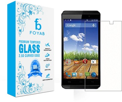 Foyab Tempered Glass Guard for Micromax A104 Canvas Fire 2(Pack of 1)