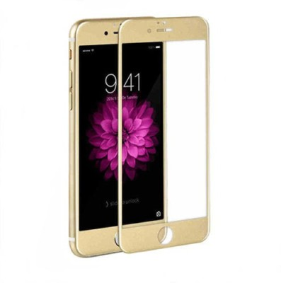 TDG Tempered Glass Guard for Apple iPhone 7 Plus (5.5 inch, Gold) (3D Full Curved Screen Coverage)(Pack of 1)