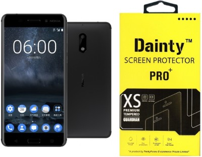 Dainty Tempered Glass Guard for Nokia 6(Pack of 1)