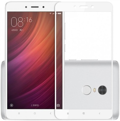 99 Gems Edge To Edge Tempered Glass for Mi Redmi Note 4 Pack of 1