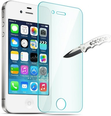 SAMARA Tempered Glass Guard for APPLE iPHONE 4g, APPLE iPHONE 4s(Pack of 1)