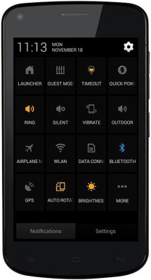 Gionee Pioneer P3 (Black, 4 GB)(512 MB RAM) at flipkart