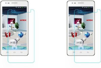 S-Model Tempered Glass Guard for Intex Aqua i7