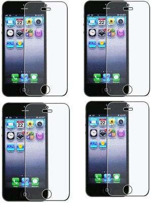 Mocell Screen Guard for Apple Iphone 5S(Pack of 4)