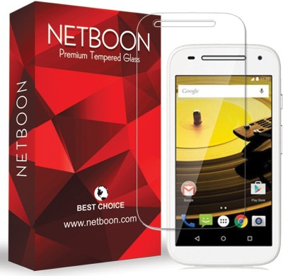 Netboon Tempered Glass Guard for Motorola Moto E (2nd Gen) 3G(Pack of 4)