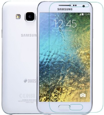 Heartly Tempered Glass Guard for Samsung Galaxy E5 SM-E500F