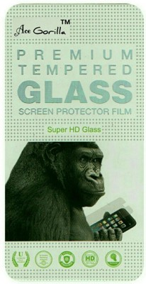 ACE GORILLA Tempered Glass Guard for Micromax Canvas L A108(Pack of 1)