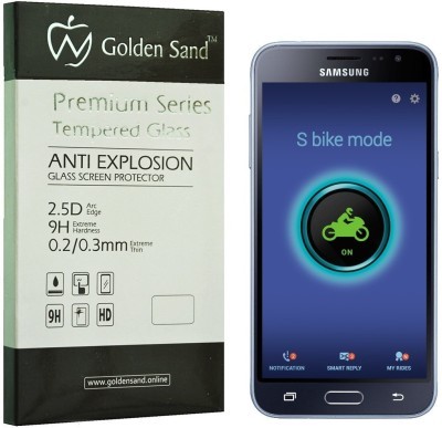 Golden Sand Tempered Glass Guard for Samsung Galaxy J3 - 6 (New 2016 Edition)(Pack of 1)