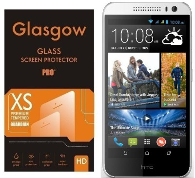 Glasgow Tempered Glass Guard for HTC Desire 616(Pack of 1)