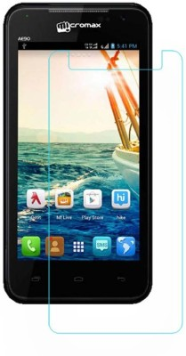 Macron Tempered Glass Guard for Micromax Canvas Duet Ae90,(Pack of 2)