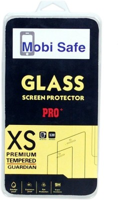 Mobi Safe Tempered Glass Guard for Nokia Lumia 520(Pack of 1)