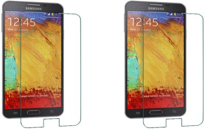 ACM Tempered Glass Guard for Samsung Galaxy Note 3 N9000 (Pack Of 2)(Pack of 2)
