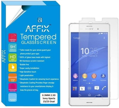 "Affix Tempered Glass Guard for Sony Xperia Z3/Sony Xperia Z3 Dual (5.2"" Inch Display)(Pack of 1)"