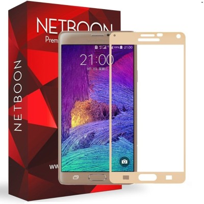 Netboon Tempered Glass Guard for SAMSUNG Galaxy Note 4(Pack of 1)