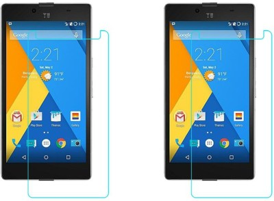 Chevron Tempered Glass Guard for YU Yuphoria(Pack of 1)