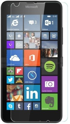 MOBIVIILE Tempered Glass Guard for Microsoft Lumia 640 Dual SIM(Pack of 1)