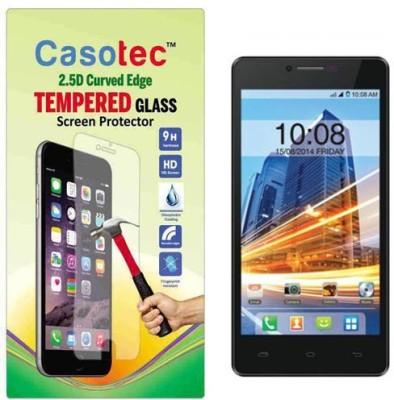 Casotec Tempered Glass Guard for Intex Aqua Star HD(Pack of 1)