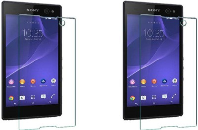 ACM Tempered Glass Guard for Sony Xperia C3 (Pack Of 2)(Pack of 2)