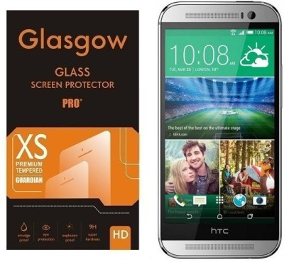 Glasgow Tempered Glass Guard for HTC One M8 EYE(Pack of 1)