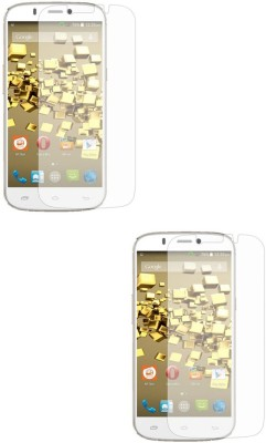MudShi Tempered Glass Guard for Micromax Canvas Juice 2(Pack of 2)